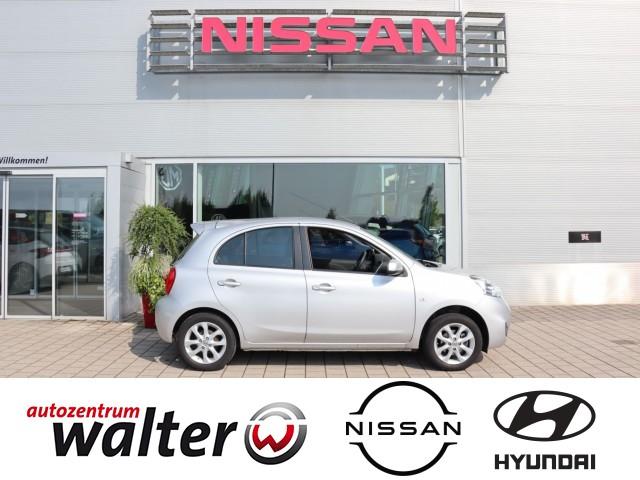 Nissan Micra Acenta 1.2 Kilmaautomatik, Sitzheizung, Jahr 2015, Benzin