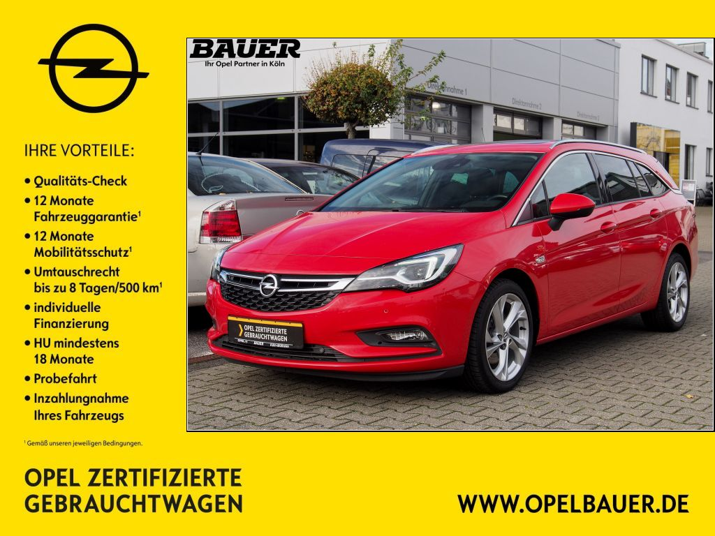 Opel Astra 1.6 BiTrb D (CDTI) Start/Stop Sports Tourer Innovation, Jahr 2017, Diesel