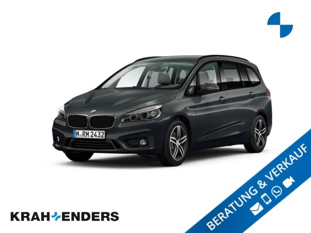 BMW 220 Gran Tourer d Sport Line ACC+LED+Navi+AHK, Jahr 2017, Diesel