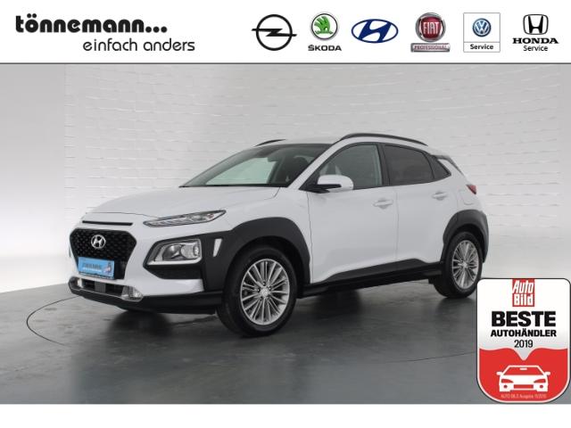 Hyundai Kona T-GDI Trend AHK, Navi, Freispr., Alufelgen, Rückfahrkamera, DAB, LED-Tagfahrlicht, Jahr 2018, Benzin