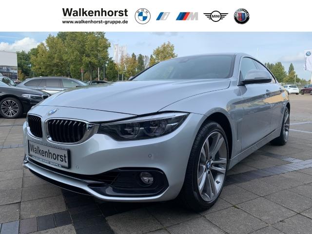 BMW 440 Gran Coupe i xDrive Sport Line EU6d-T Aut LED AHK HuD Navi, Jahr 2018, Benzin