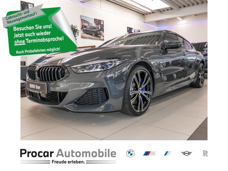BMW 840d xDrive Gran Coupé M-Sport Driving Assis. Prof Kamera 360 Standhzg, Jahr 2021, Diesel