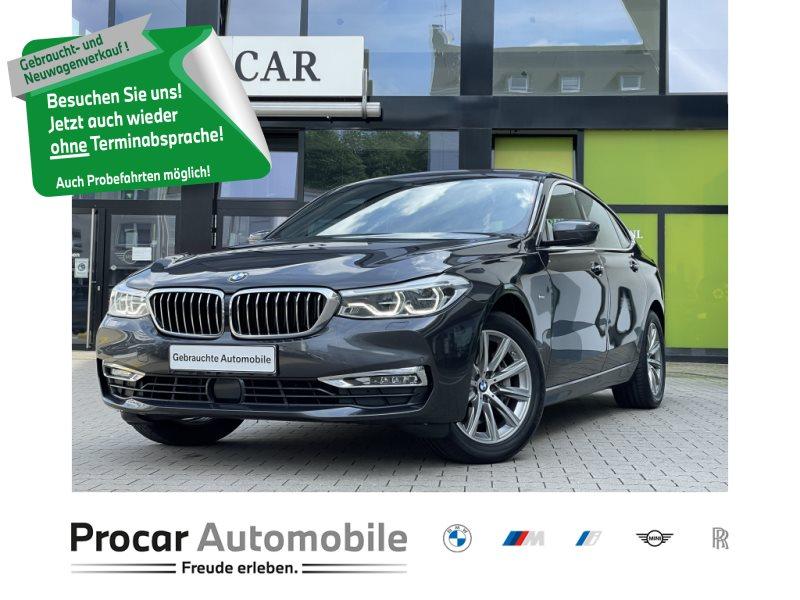 BMW 640i xDrive Gran Turismo Luxury Line HuD AHK Pano, Jahr 2018, Benzin