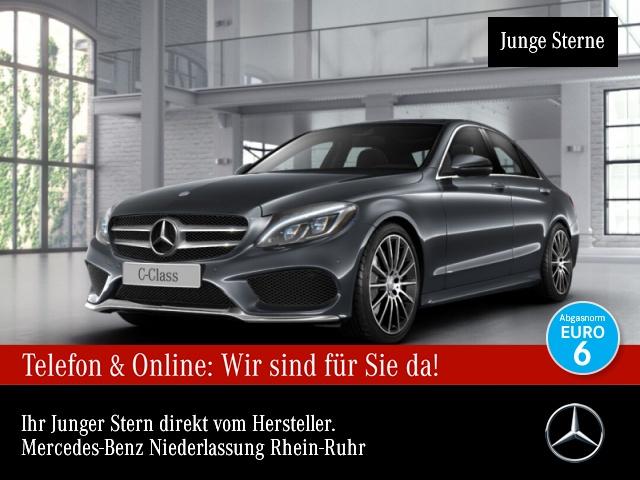 Mercedes-Benz C 180 AMG Burmester Navi PTS Sitzh Sitzkomfort, Jahr 2016, Benzin