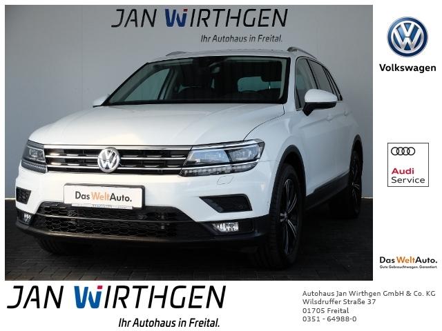 Volkswagen Tiguan 2.0 TSI DSG 4Motion Sound *AHZV*DAB*LED*, Jahr 2017, Benzin