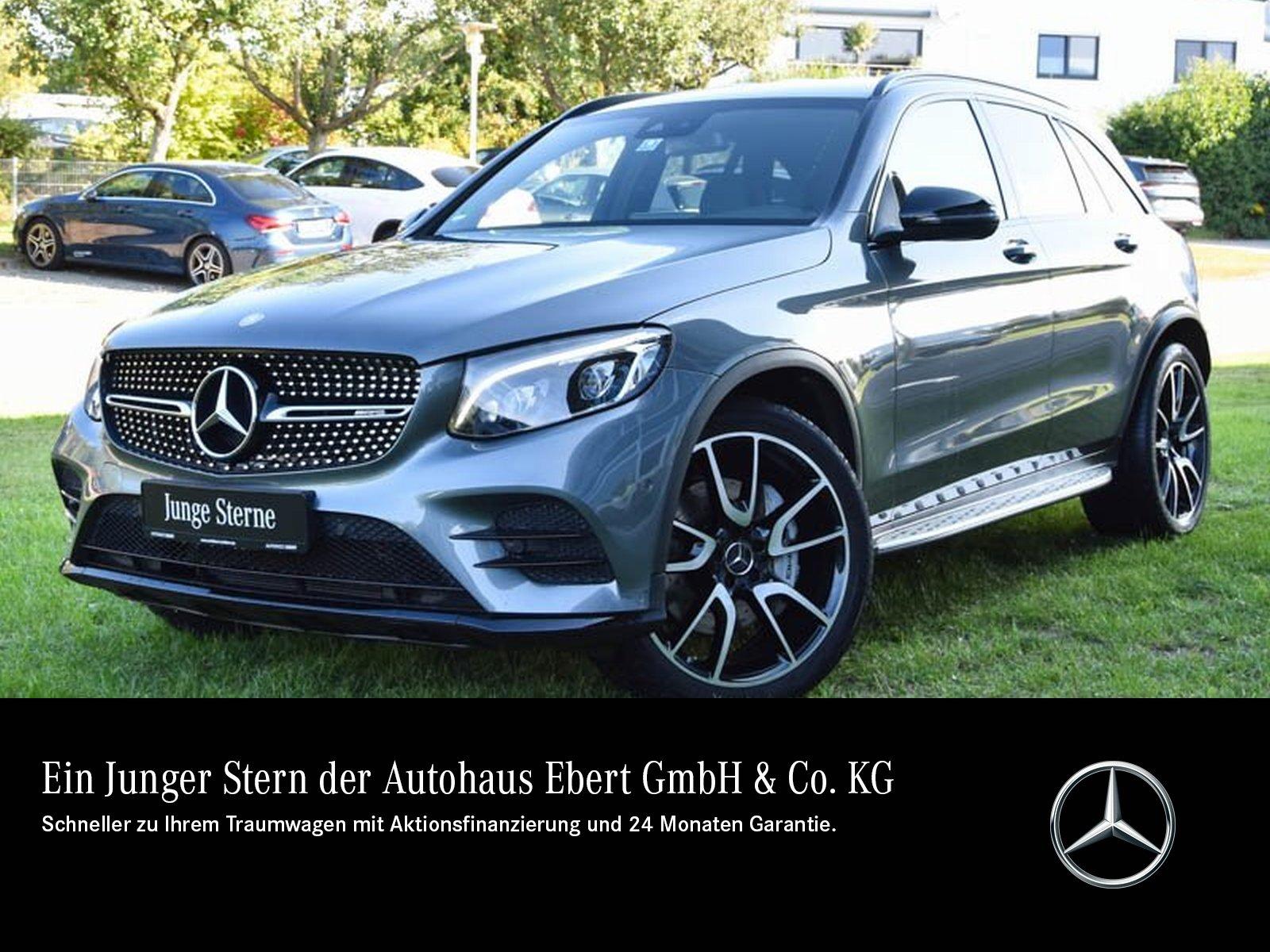 Mercedes-Benz GLC 43 4M AMG COMAND+BURMESTER+EASY+NIGHT+LED, Jahr 2017, Benzin