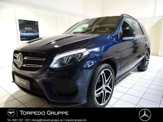 Mercedes-Benz GLE 500 4M AMG NAVI+COMAND+LED+NIGHT+SHD+AHK+DIS, Jahr 2015, Benzin