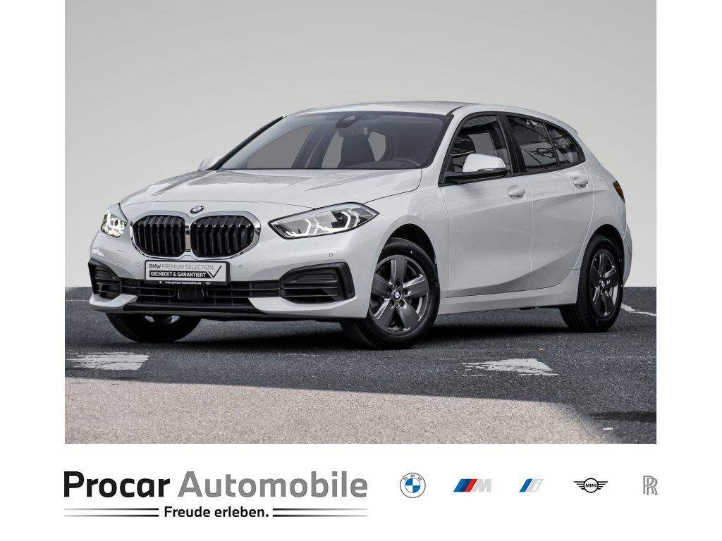 BMW 118i AUT.+ADVANTAGE+LED+NAVI+WLAN+PDC+SHZ.+KLIMAAUTO., Jahr 2020, Benzin