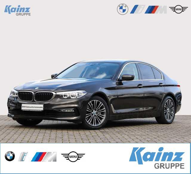 BMW 525d Aut. Sport Line Business-Paket/Navi/Standheizung/LED-Scheinwerfer/SHZ, Jahr 2017, Diesel