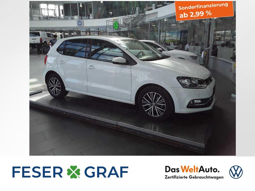 Volkswagen Polo 1.0Allstar PDC Navigation Sitzheizung Clima, Jahr 2016, Benzin