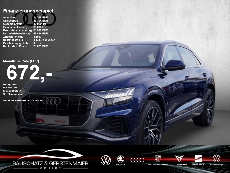 Audi Q8 50 TDI S line Standheiz. B&O Head Up, Jahr 2018, Diesel