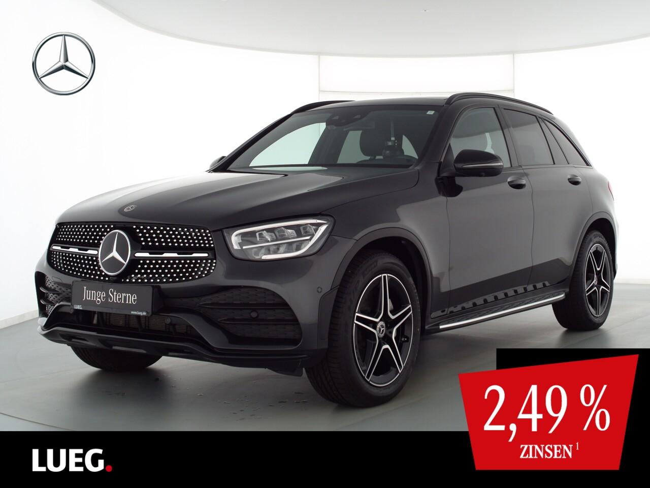 Mercedes-Benz GLC 200 4M AMG+MBUX+Navi+Pano+LED+Sthzg+AHK+360°, Jahr 2020, Benzin