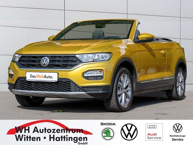 Volkswagen T-Roc Cabriolet 1.0 l TSI STYLE NAVI ACC PDC SITZHZG, Jahr 2020, Benzin