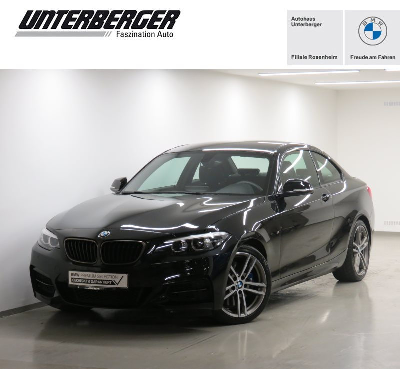 BMW M240i Coupé LED WLAN Navi Prof. Tempomat Shz, Jahr 2019, Benzin