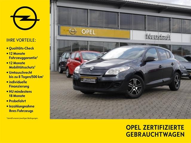 Renault Megane III 1.6 je t'aime Klima Bluetooth USB, Jahr 2012, Benzin