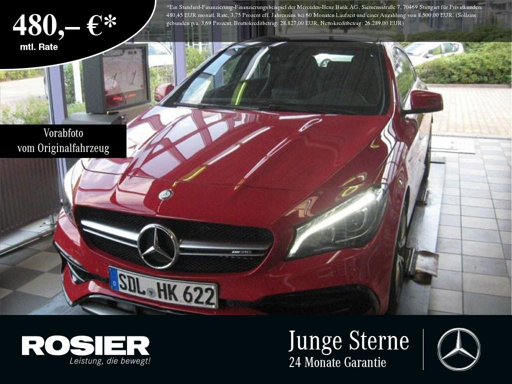 Mercedes-Benz CLA 45 AMG 4M Shooting Brake LED Pano Kamera Sou, Jahr 2016, Benzin