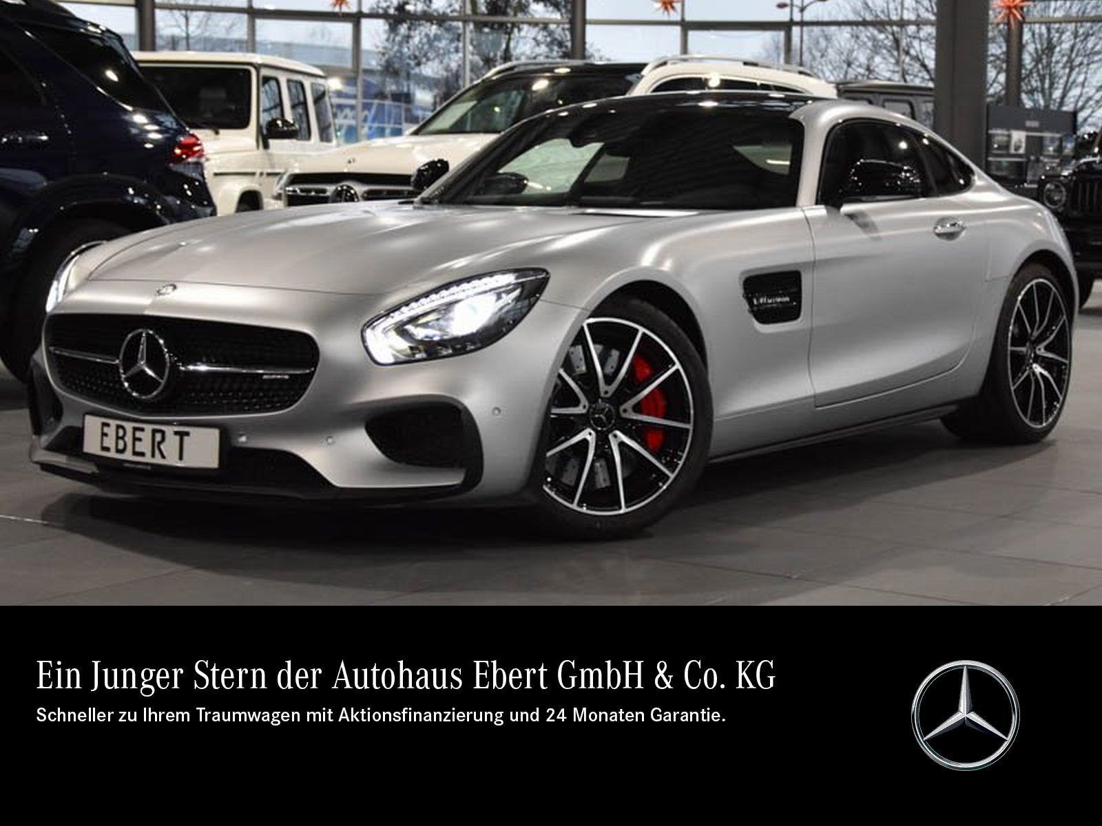Mercedes-Benz AMG GT S Coupé EDITION 1+CARBONDA+COMAND+LED+PTS, Jahr 2015, Benzin