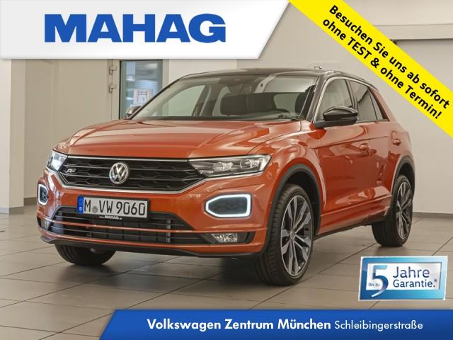 "Volkswagen T-ROC Style ""UNITED"" R-Line LED AHK DAB+ 7-Gang-Doppelkupplungsgetriebe DSG, Jahr 2020, petrol"