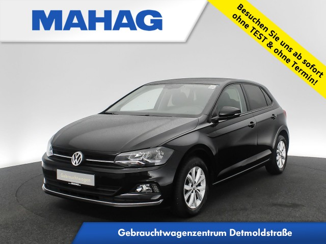 Volkswagen Polo 1.0 TSI Highline Navi Sitzhz. ParkPilot FrontAssist 15Zoll 5-Gang, Jahr 2018, Benzin