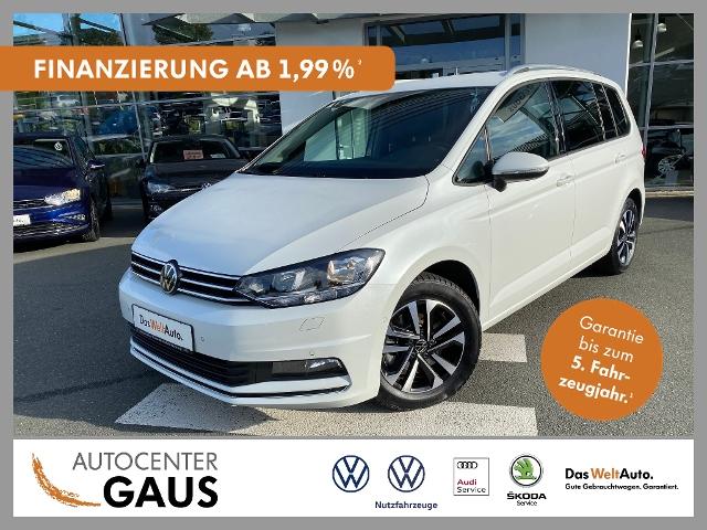 Volkswagen Touran United 1.5 TSI Navi AHK 7-Sitzer, Jahr 2020, Benzin