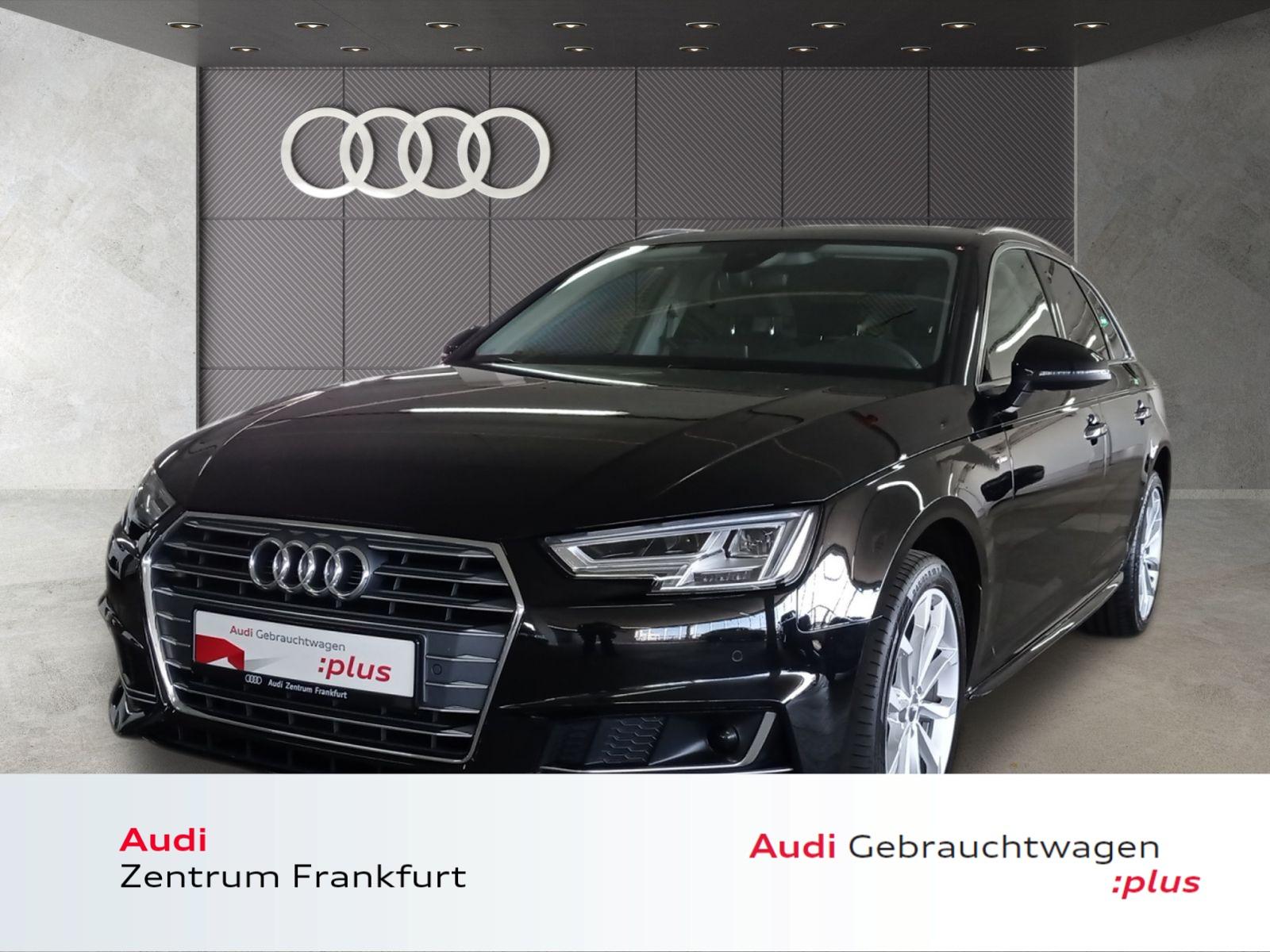 Audi A4 Avant 2.0 TDI S tronic S line LED Navi Tempomat, Jahr 2017, Diesel