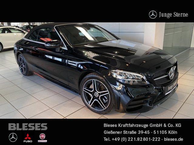 Mercedes-Benz C 200 Cabriolet AMG Line +NightPaket+Infotainm.+, Jahr 2020, Benzin