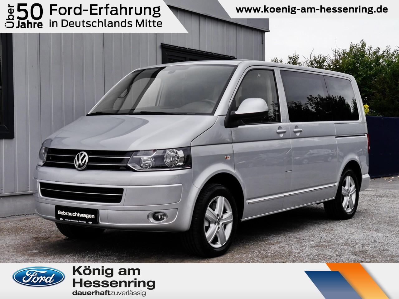 Volkswagen T5 Multivan Highline 2.0 TDI Standhzg+AHK+NAV, Jahr 2014, Diesel