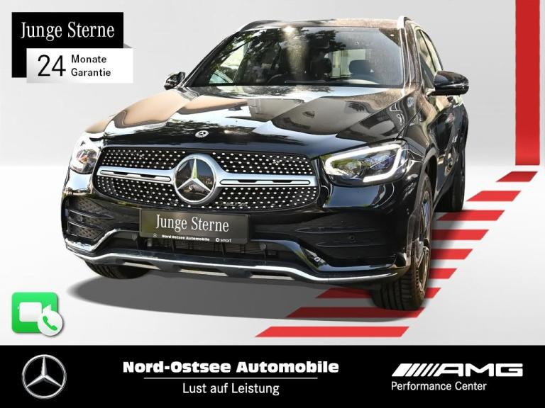 Mercedes-Benz GLC 200 4M AMG Navi Spur-P. LED AHK PDC, Jahr 2020, Benzin