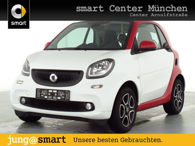 smart fortwo coupé 52kW passion cool&Audio SHZ Pano LED, Jahr 2019, Benzin