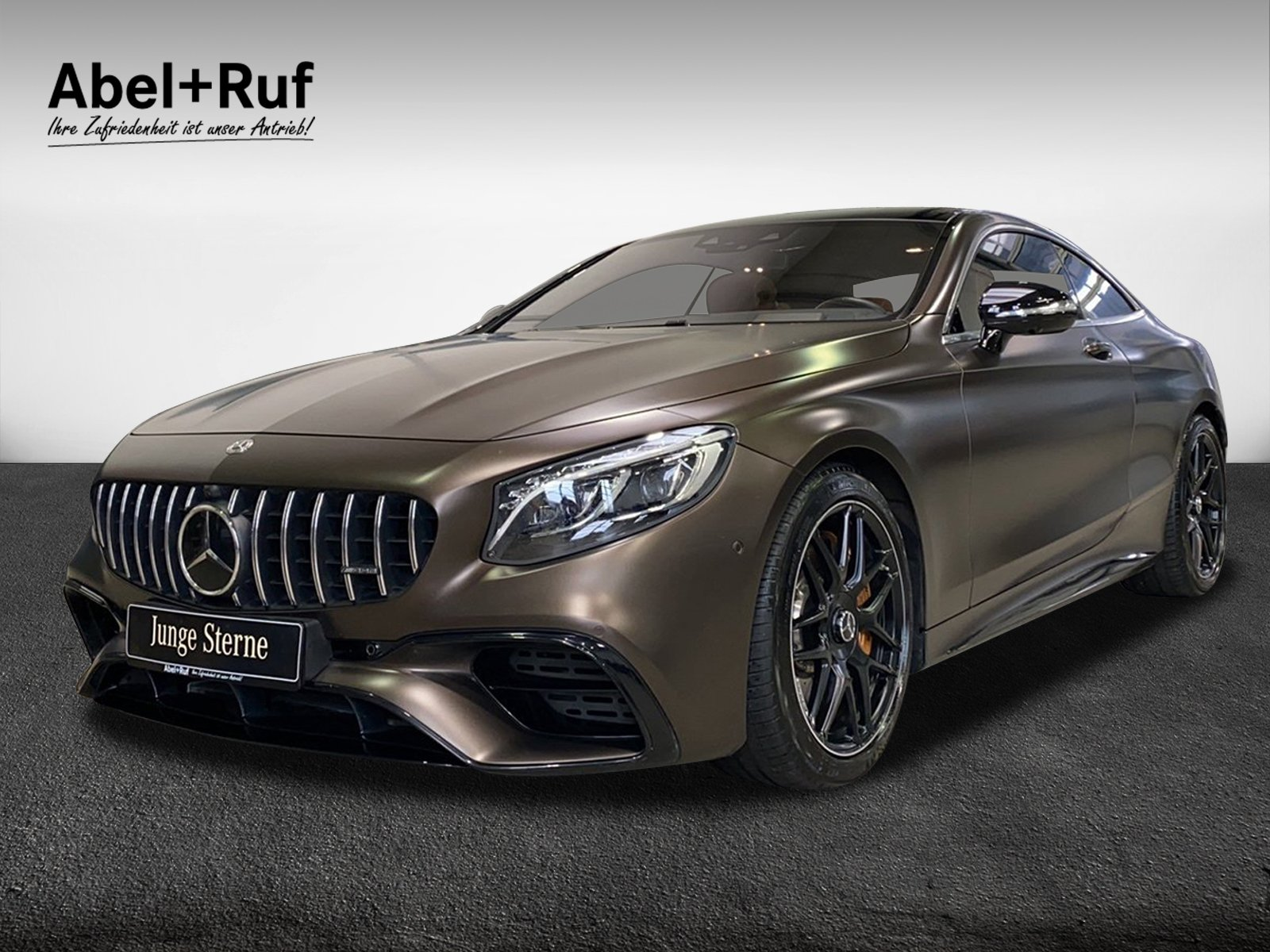 Mercedes-Benz S 63 AMG Coupé DESIGNO+360+HUD+Burmester NP: 220, Jahr 2018, Benzin