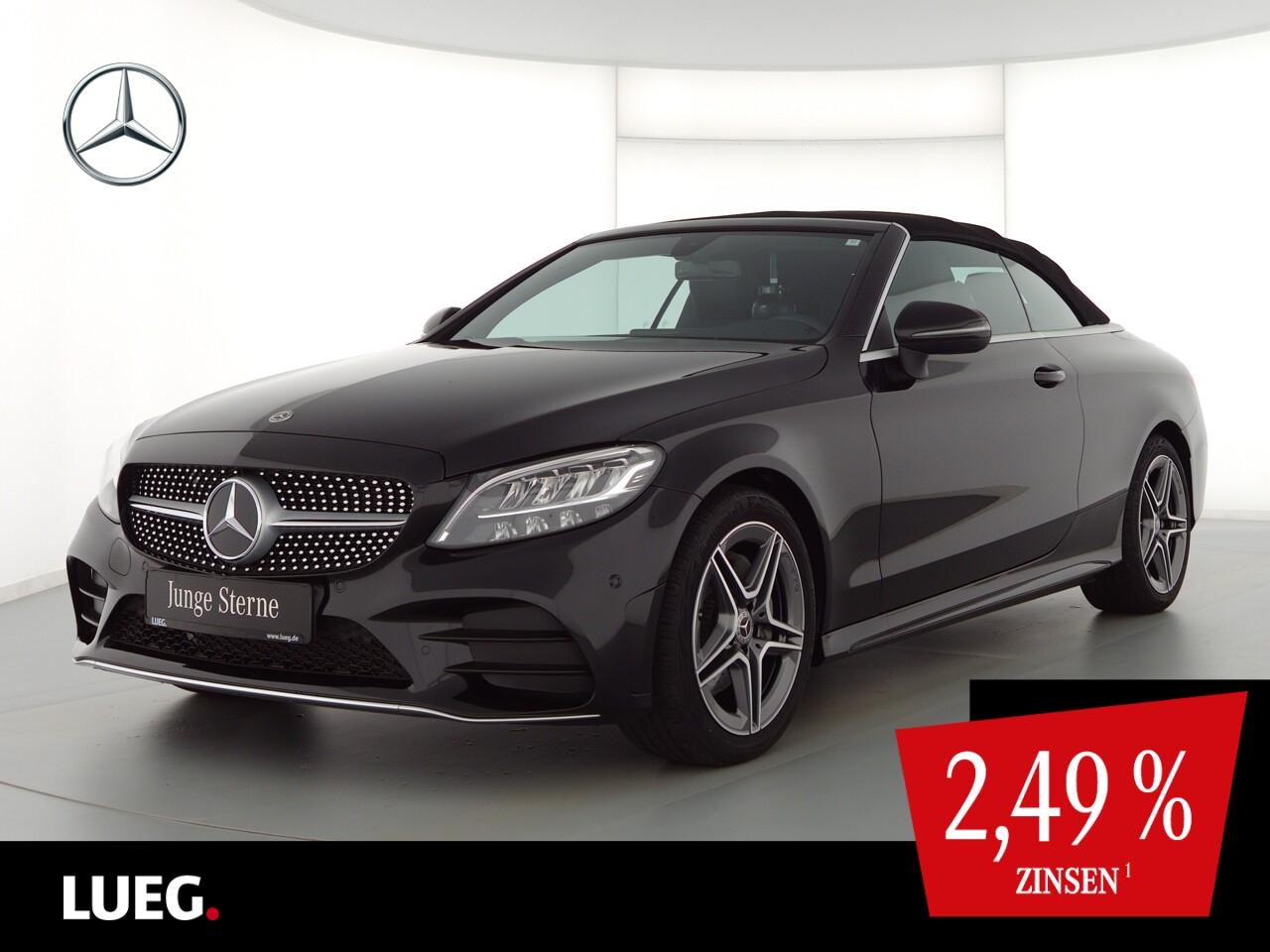Mercedes-Benz C 180 Cabrio AMG+Navi+LED-HP+CabKom+ParkA+Kamera, Jahr 2020, Benzin