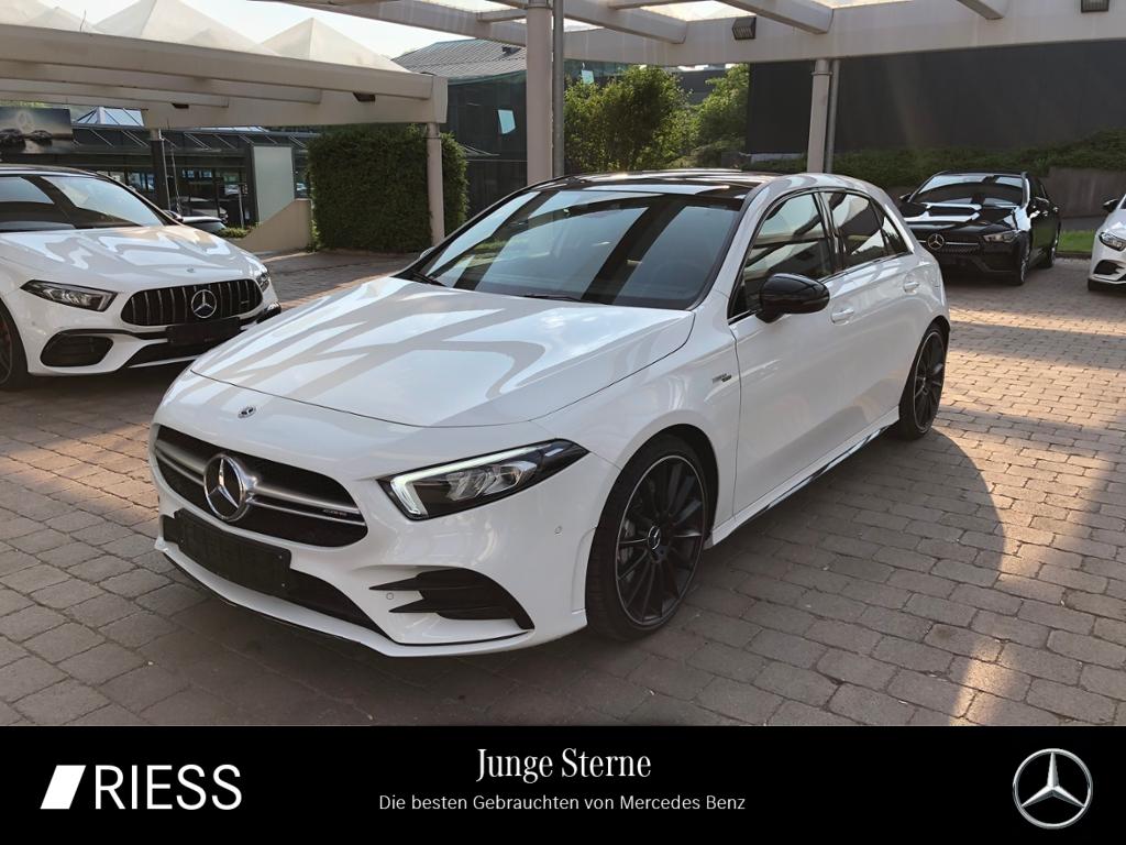 Mercedes-Benz A 35 AMG 4M Night Navi LED Pano Burmes Kamera 19, Jahr 2019, Benzin