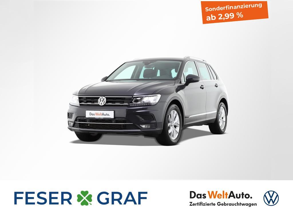 Volkswagen Tiguan 2.0TDI Highline DSG EasyOpen LED ACC Navi, Jahr 2018, Diesel