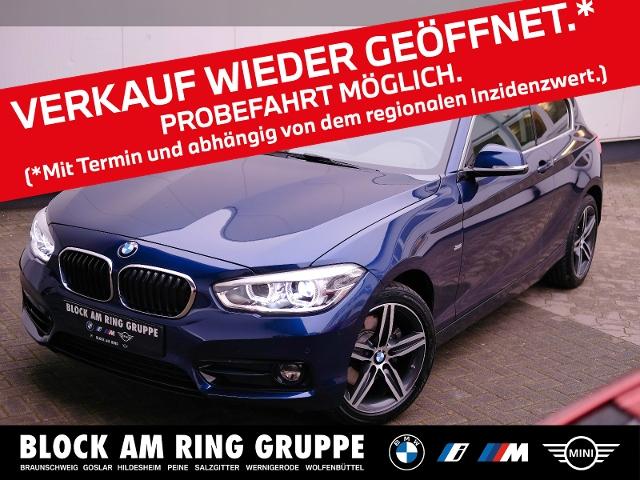 BMW 125i 3-Türer Lines LED PDC SH LMR, Jahr 2017, Benzin