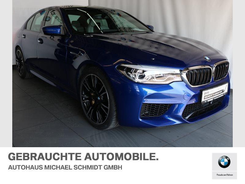BMW M5 Limousine M+DRIVERS+KERAMIC+BSI+DRIV.PLUS+NIGHT+VISION+BW+F, Jahr 2018, Benzin