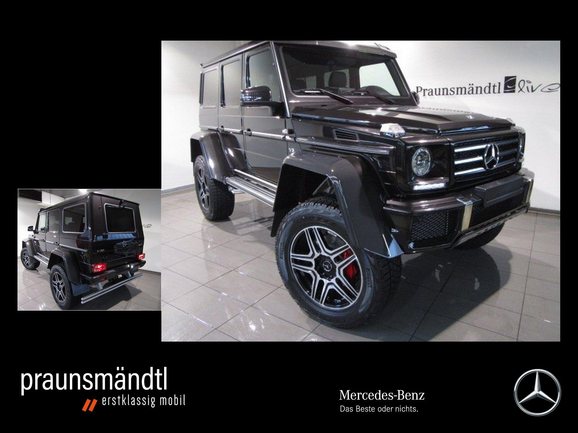 Mercedes-Benz G 500 4x4² (Zulassung 08/19!!!) - nur 90 km !!!-, Jahr 2018, Benzin