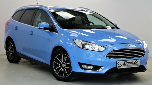 Ford Focus 1.5 150 PS EcoBoost Turnier Titanium Navi, Jahr 2016, Benzin