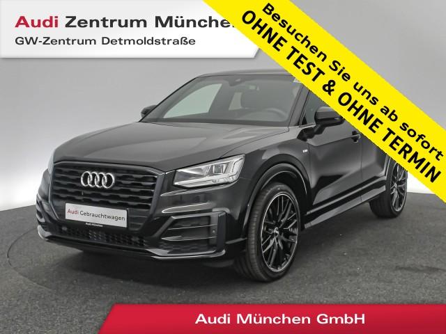 "Audi Q2 35 TFSI Sport S line 19"" B&O Virtual LED ACC Leder Navi R-Kamera #comfort S tronic, Jahr 2019, petrol"