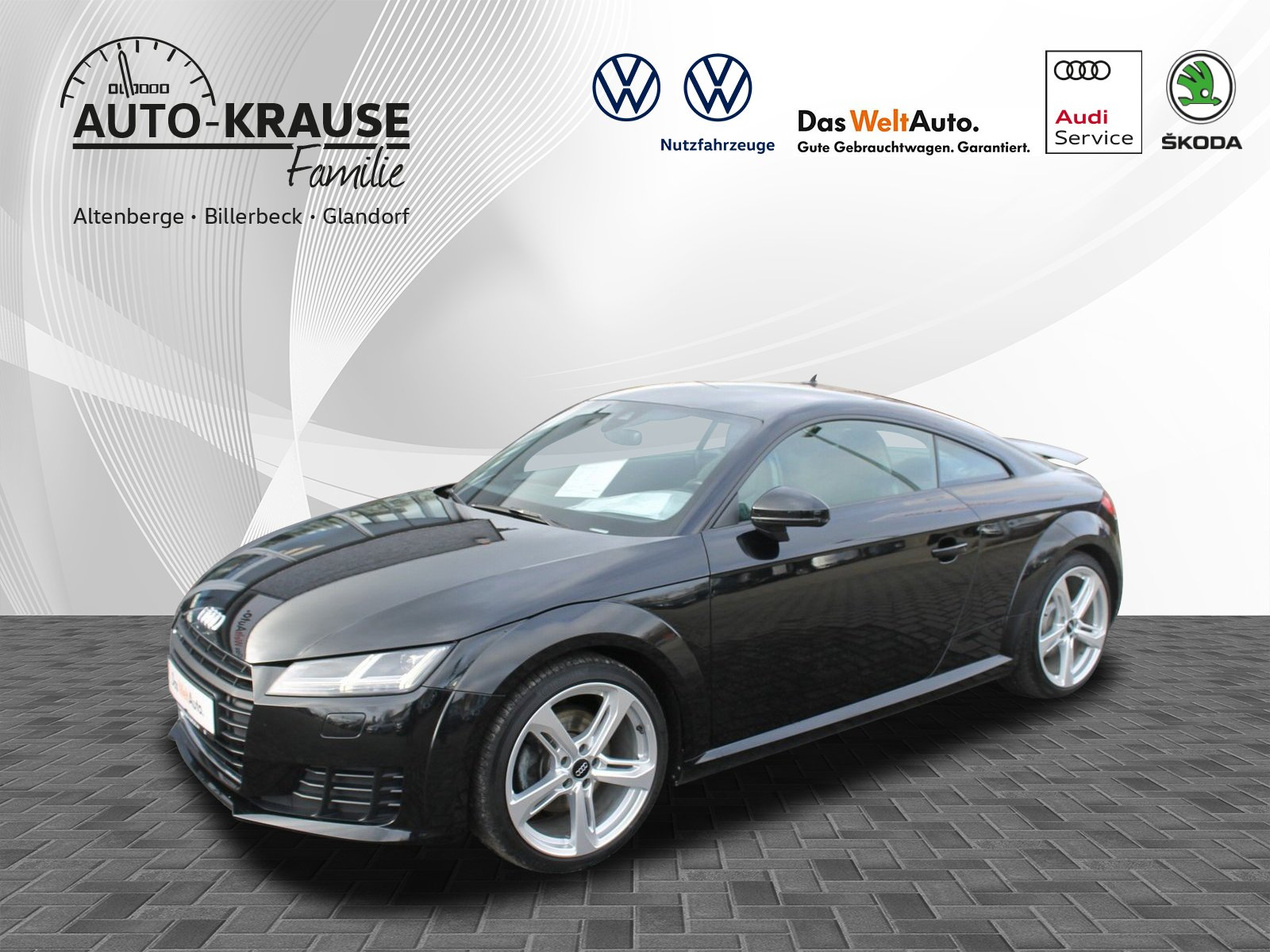 Audi TT 2.0 TFSI Coupe quattro S-Tronic B & O Sound, Jahr 2015, Benzin