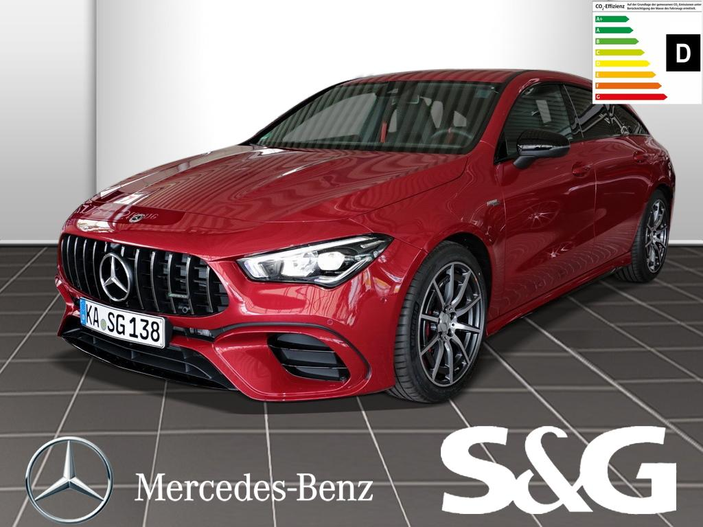 Mercedes-Benz CLA 45 AMG Shooting Brake S 4M+ Prem.Navi+LED+18, Jahr 2020, Benzin