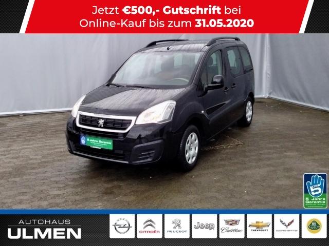 Peugeot Partner Tepee Active 1.6 16V 98 VTi Klimaanlage Einparkhilfe Sitzheizung Tempomat Radio CD Bluetooth, Jahr 2016, Benzin