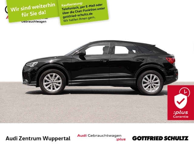 Audi Q3 Spb 35TFSI KAMERA DAB VIRTUAL CONNECT LED NAV VO HI SHZ FSE 18ZOLL, Jahr 2021, Benzin