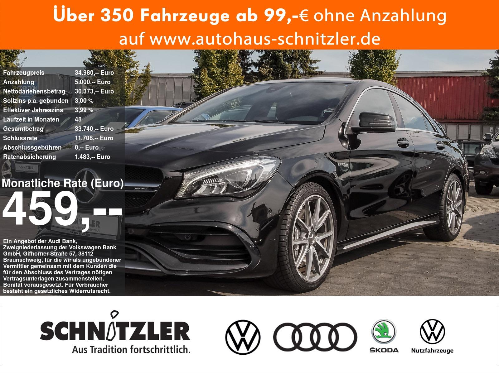 Mercedes-Benz CLA 45 AMG 4Matic ***Garantie***, Jahr 2016, Benzin