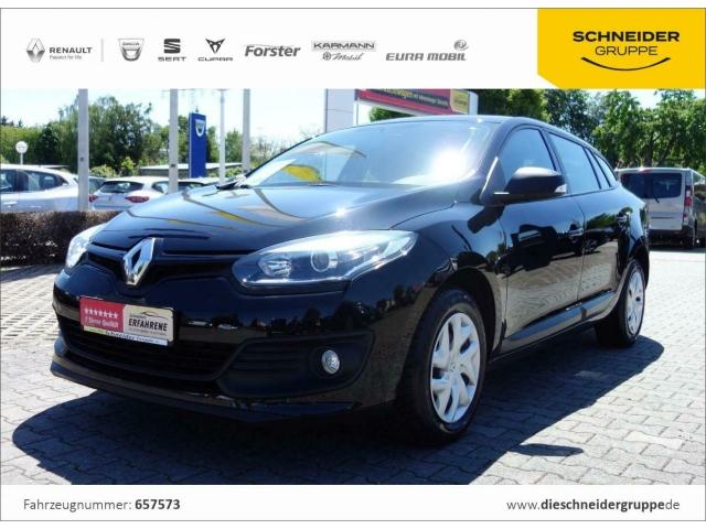 Renault Megane Grandtour 1.6 Authentique Klima RADIO ZV, Jahr 2014, Benzin