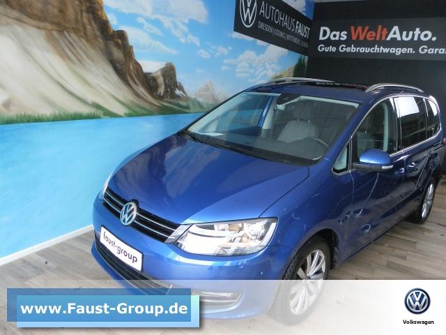 Volkswagen Sharan Highline Standhzg. UPE 60000 EUR NAVI AHK, Jahr 2019, Diesel