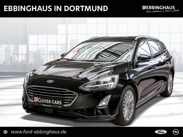 Ford Focus Turnier Titanium 1.5 EcoBoost EU6d-T LED Navi Keyless HUD Parklenkass. Rückfahrkam., Jahr 2019, Benzin