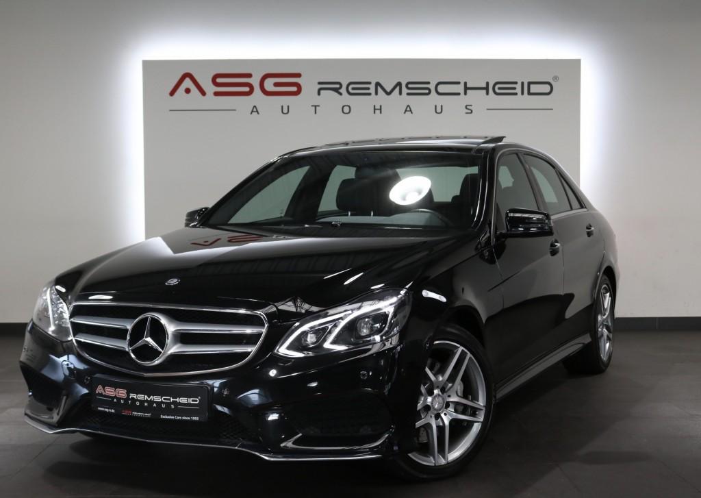 Mercedes-Benz E 400 4-M 7G-Tr. AMG Line *Pano *Memory *KeyGo, Jahr 2013, Benzin