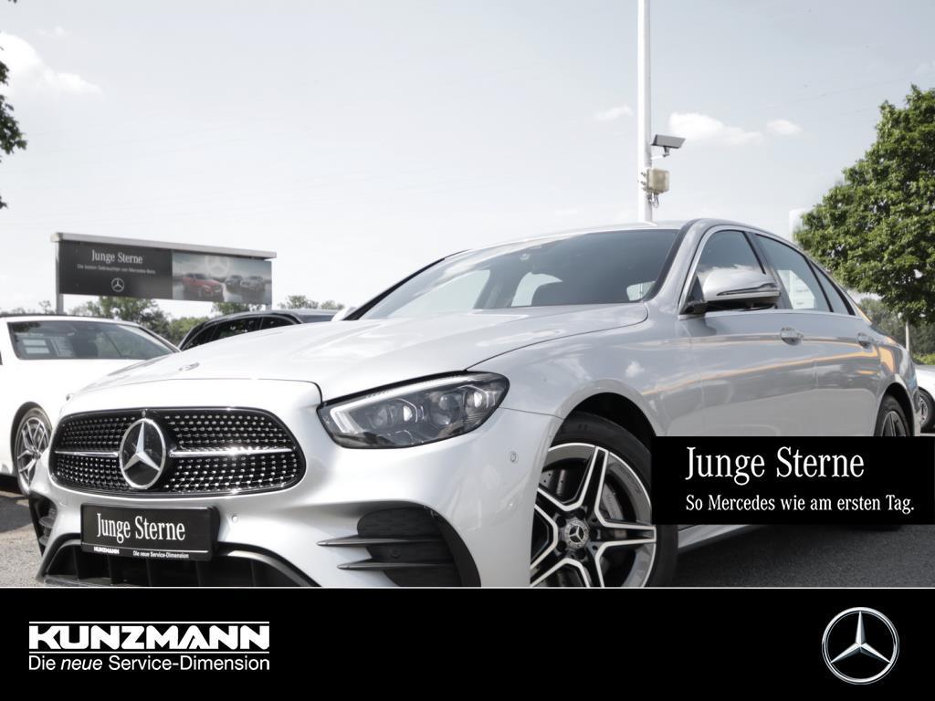 Mercedes-Benz E 450 4M AMG MBUX Navi Schiebedach Memory 360°K, Jahr 2020, Benzin