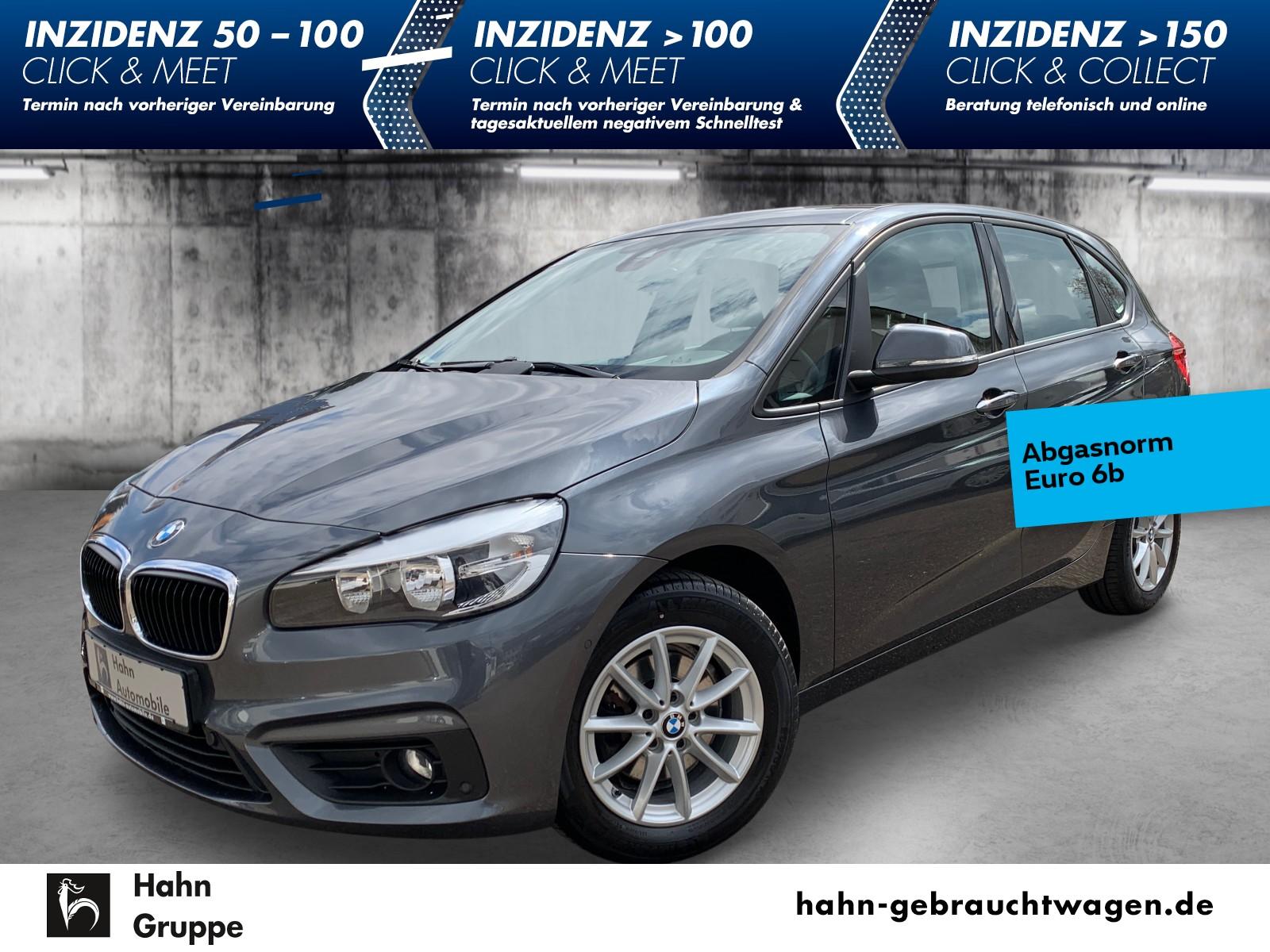 BMW 218d Active Tourer Advantage Navi PDC SHZ Tempom, Jahr 2015, Diesel
