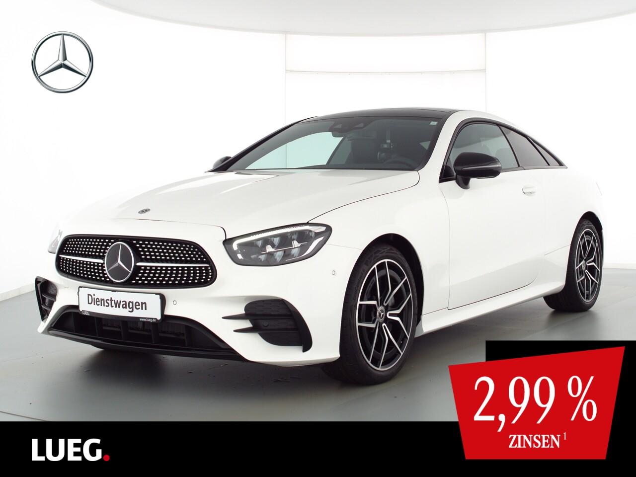 Mercedes-Benz E 220 d Coupé AMG+NIGHT+PANO+FAHRASS+MEMORY+KAM., Jahr 2021, Diesel